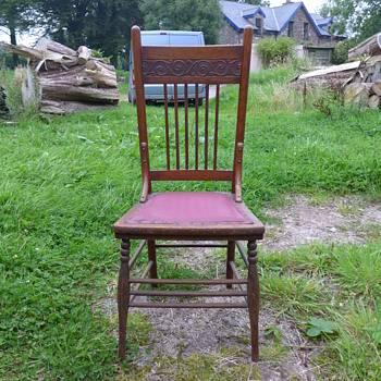 Bentwood Pressed Back Chairs, American? - Furniture
