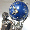 French Swinging Apollo Clock
