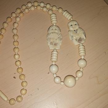Netsuke Necklace