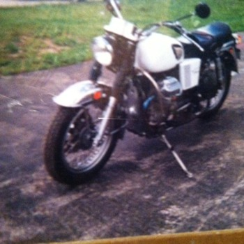1974 Moto Guzzi 850 Eldorado Police Bike