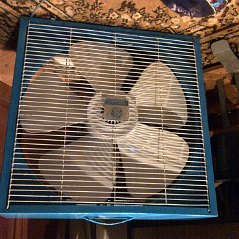ge boxfan restored and ge coin op