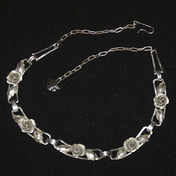 Bond Boyd Sterling Necklace