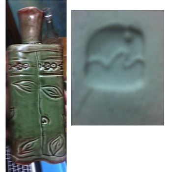 Unkown Pottery Bottle. Help!