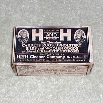 "1890-1910 - ""Hyde's H and H Soap"" - Advertising"