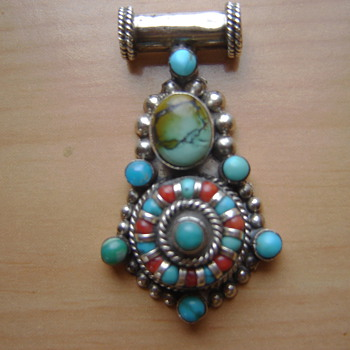 Native American pendant - Native American