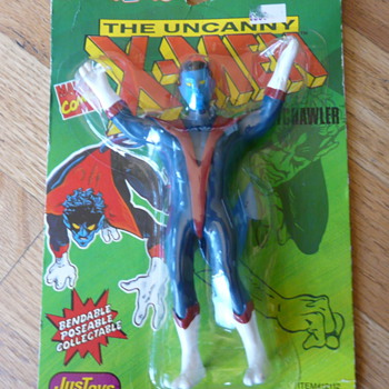 The Uncanny X-Men bend'ems toy with Nightcrawler - Toys