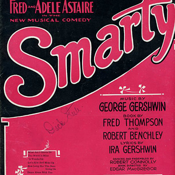 "S' Wonderful from ""Smarty"" 1927 (later changed to ""Funny Face"") - Music"