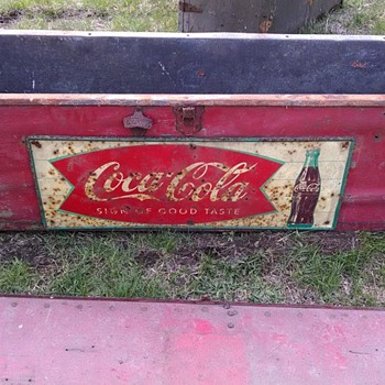 dont know. found in shed - Coca-Cola