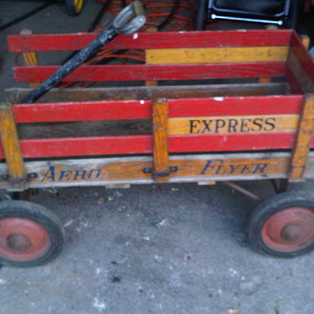 FUN Aero Flyer Espress wood wagon - Sporting Goods