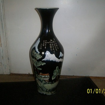 VASE:china pottery &amp; porcelain arts co. - Art Pottery