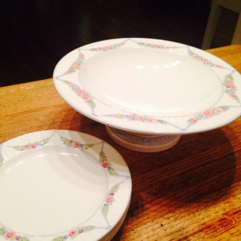Great grandmothers Wachtersbach dishes