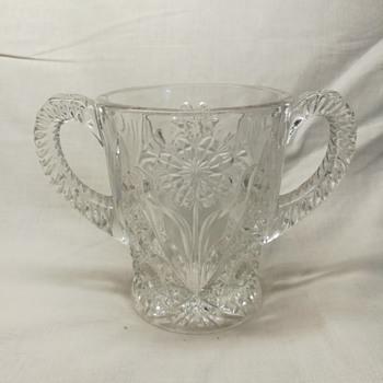 Imperial Glass #474, Cosmos, spooner