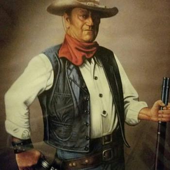 John Wayne Print by A. Sutherland - Movies