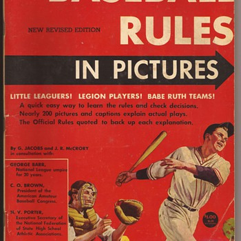 Baseball Rules in Pictures