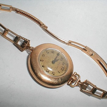 "My Oldest ""Wrist Watch""  - Pocket Watches"