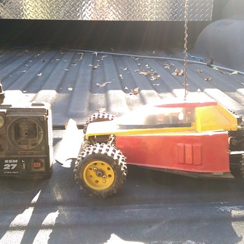 Vintage yokomo dog fighter - Model Cars