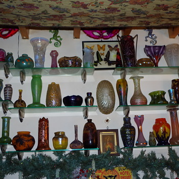 COLLECTION ON DISPLAY - Art Glass