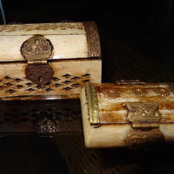 Bone Trinket Chests - Furniture