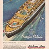 1954 Italian Line Advertisement