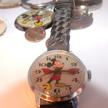 1974 English Mickey Wristwatch