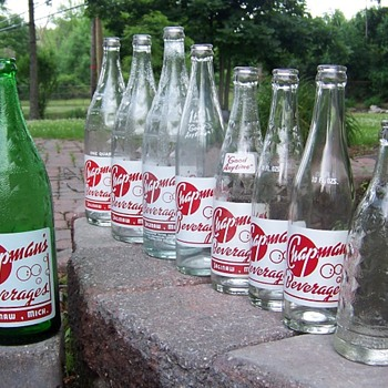 Chapmans beverages - Bottles