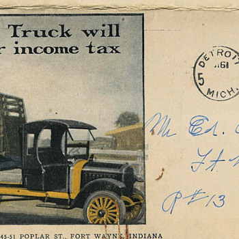 1919 Republic truck brochure - Advertising