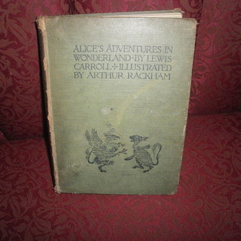 ALICE'S ADVENTURES IN WONDERLAND 1919 - Books