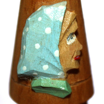 Wooden Thimble - Sewing