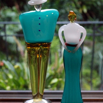 Some unusual glass figures - Japanese? - Art Glass