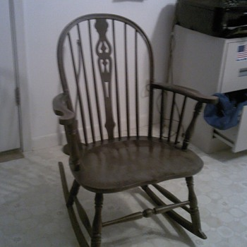 My Grandmothers antique rocker - Furniture