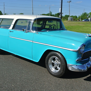 1955 Chevrolet Bel Air Nomad - Classic Cars