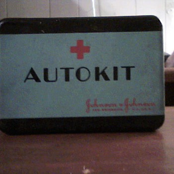 Johnson & Johnson complete auto kit.