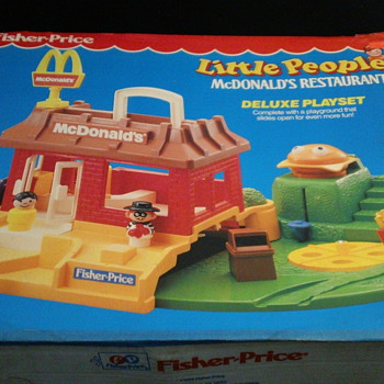 1989 FISHER-PRICE LITTLE PEOPLE MCDONALD'S FACTORY SEAL MINT - Toys