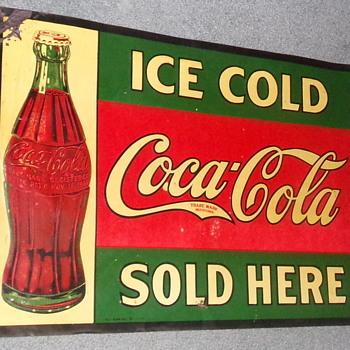 1930 Coca-Cola Sign