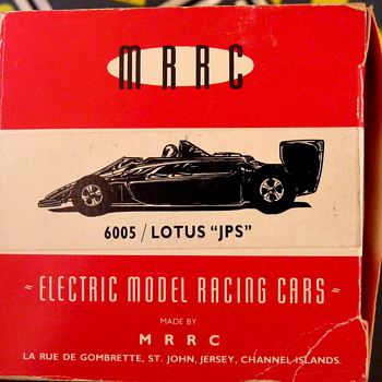 Lotus JPS by MRRC, made in Jersey, Channel Islands