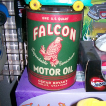 Falcon Motor Oil, Dealer Display Can - Petroliana