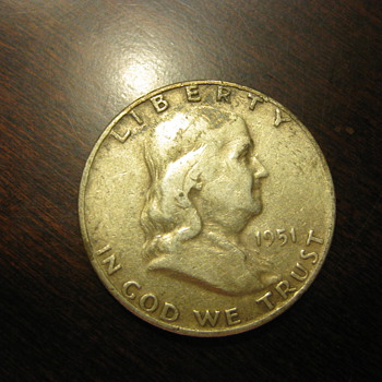Benjamin Franklin Half Dollar