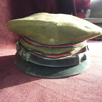 Vintage military hat....what era and rank ?......