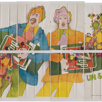 7Up UnCola vintage billboards (21' x 10'), 1969 - Advertising
