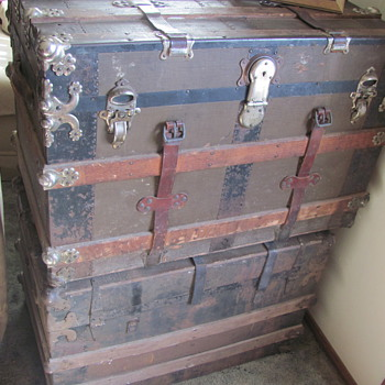 2 chests full of a 1/2 century of a large familys memorys