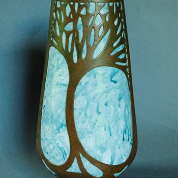 "My Gorgeous Art Nouveau ""Mystery"" Vase - Pottery"