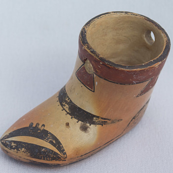 Little Pottery Shoe Is this Native American?