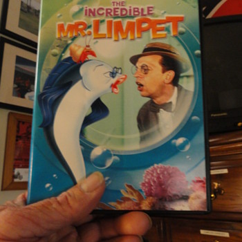 dvd the incredible  MR.LIMPET - Movies