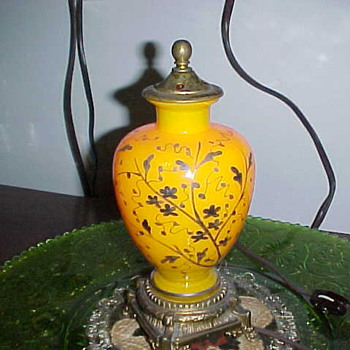 Electric Perfume Lamp - Art Glass