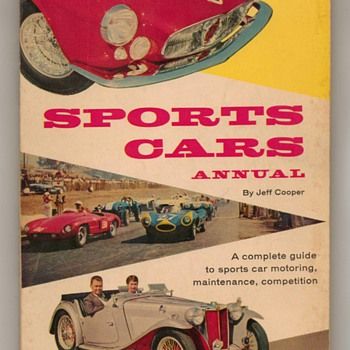 1957 Sports Car Annual - Paper