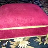 Vintage foot stool w/ a facelift.