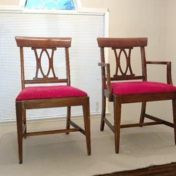 Who manufactured these dining chairs? - Furniture