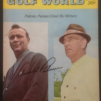 ARNOLD PALMER SAM SNEED AUTOGRAPHED - Outdoor Sports