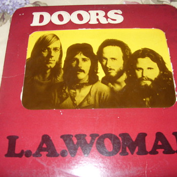 1971 the doors - Records