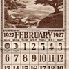 &quot;ON THE COAST OF CALIFORNIA&quot;1927 CALENDAR